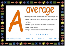 the maths alphabet room display posters