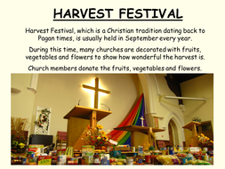Harvest Traditions and  Food Aound The World.ppt