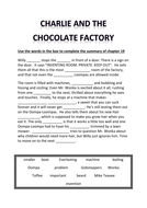 CHARLIE AND THE CHOCOLATE FACTORY3.docx