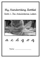 cursive handwriting booklets and sheets updated by thelorax teaching resources. Black Bedroom Furniture Sets. Home Design Ideas