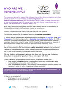 Activity Who are we remembering HMD 2015.pdf