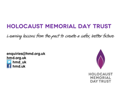 Lesson Plan Secondary Schools Keep the Memory Alive Presentation HMD 2015.pptx