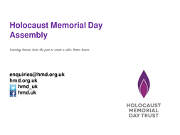 Assembly Genocide Memorials Presentation HMD 2015_ FINAL.pptx