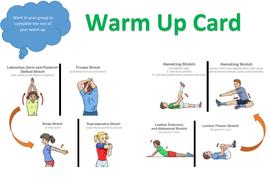 Basic Dance/Gymnastic Warm up Resource by drewdaly9 - Teaching ...