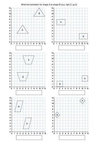 KS2 Maths: Translations by mrajlong - Teaching Resources - Tes
