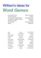 Ideas for word games