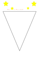 i am special blank bunting flag template pshe by ememiemily