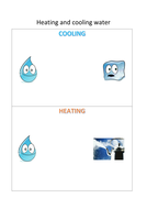 Ks1 Heating And Cooling Water Cycle By Ememiemily Teaching Resources