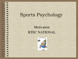 motivation and sports performance