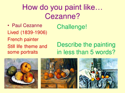 Two Paintings That You Can Easily Compare And Contrast