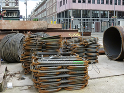 concrete wire for metro-constructions-Amsterdam-HilFo-2013.JPG