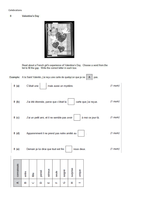 AQA French GCSE Past Reading Papers per topic by GMCbton