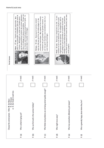 Critical thinking application paper gcse past