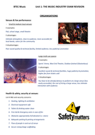 BTEC Music Unit 1 'Music Industry' Revision Guide