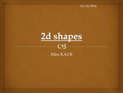Drawing Lines Of Symmetry Worksheets Ks : 2d shapes ks3 by prabhleenkaur teaching resources tes