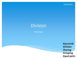 Division - KS3