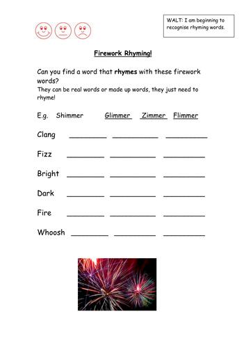Onomatopoeia firework poems ks1 for Firework shape poems template