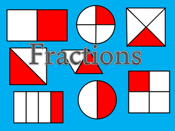 Fractions- Halves and quarters ppt