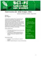 Flash Gordon History KS3