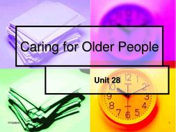 unit 28 caring for older people