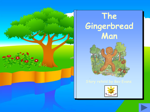 Gingerbread man eal topic by jemmastory teaching for Gingerbread man story map template
