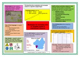 EAL strategies mats