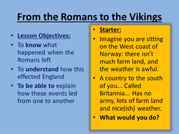 From the Romans to the Vikings