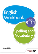 Spelling and Vocabulary exercises for age 9-11