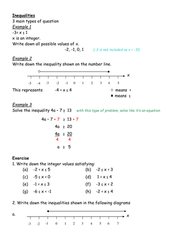 how to solve inequalities with variables in denominator