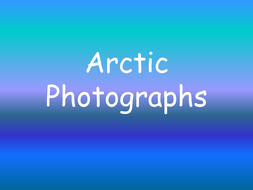 UW Arctic Photographs.ppt