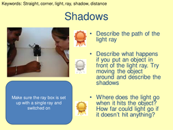 Differentiated light circus activity