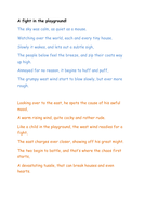 Personification poetry examples