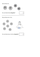 Year 2 SAT questions- time, place value & money by