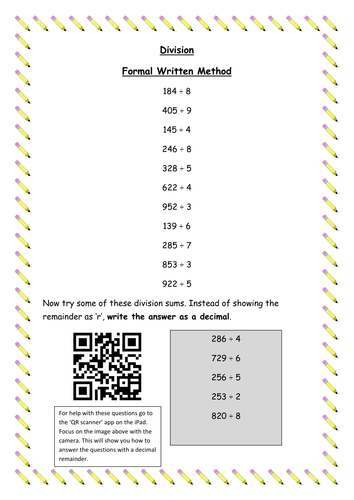 Division Bus Stop Method by chapso - Teaching Resources - TES