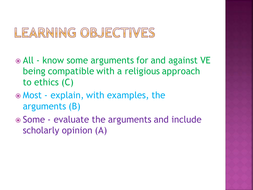 virtue ethics approach example