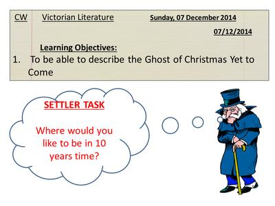 A Christmas Carol mini-scheme of work by findangie_00 - UK Teaching Resources - TES