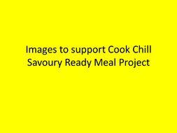Images for cook chill savoury meal starter activit