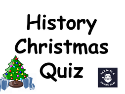 Key Stage 3 History Christmas Quiz