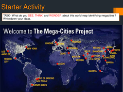 Megacities by occold25 - Teaching Resources - Tes