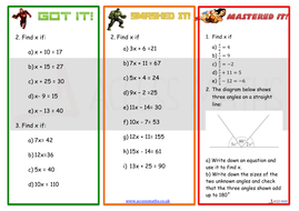 Solving Basic Equations Worksheet By Grantbarker522 Teaching