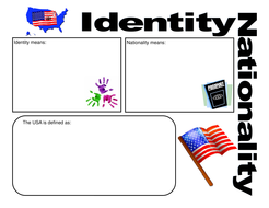 Identity and Nationality  Graphic Organizer