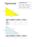 Trigonometry handout