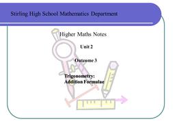 trig addition formulae.ppt