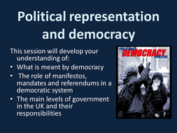 Political representation and democracy.ppt