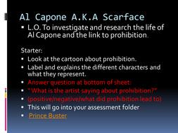 Al Capone and Prohibition