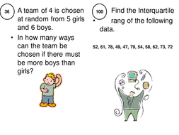 Revision activity for statistics