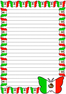 Mexican Flag Themed Lined Paper (Portrait).pdf