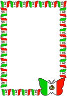Mexican Flag Themed Pageborder (Portrait).pdf