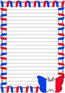 France Flag Themed Lined Paper (Portrait).pdf