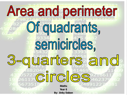 Area and Circumference of Circles (Powerpoint)